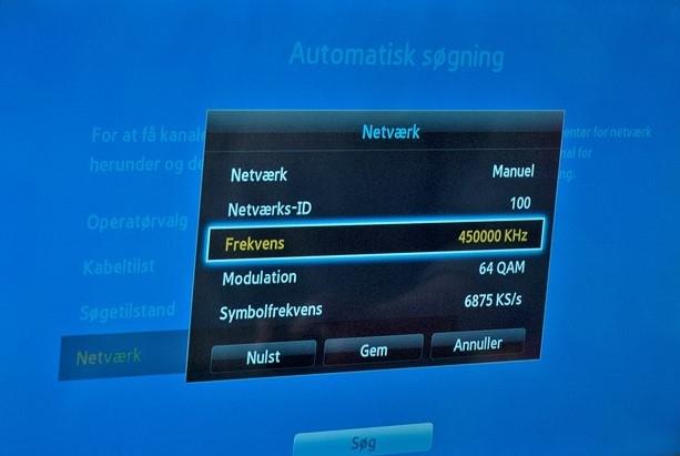 TV-installation og kanal-indstilling i Roskilde ved JBR Multi Service
